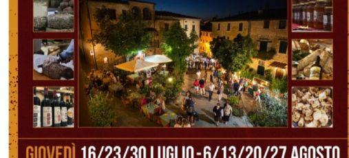 Degustiamo Chianni – 13 agosto